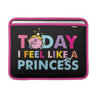 Little Miss Princess   I Feel Like A Princess Sleeve For MacBook Air