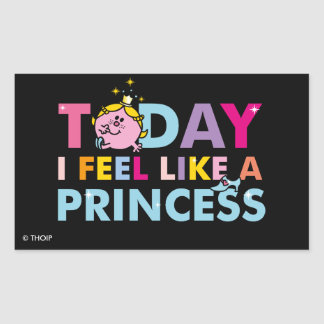 Little Miss Princess | I Feel Like A Princess Sticker