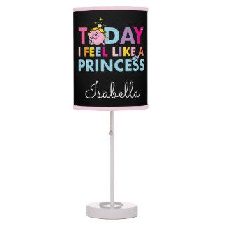 Little Miss Princess | I Feel Like A Princess Table Lamp