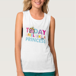 Little Miss Princess | I Feel Like A Princess Tank Top
