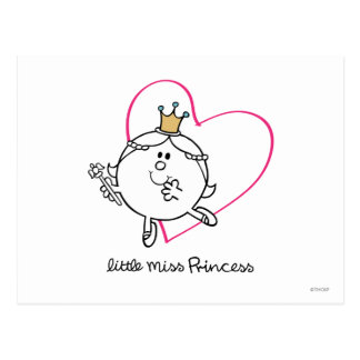 Little Miss Princess Icon 5 Post Cards