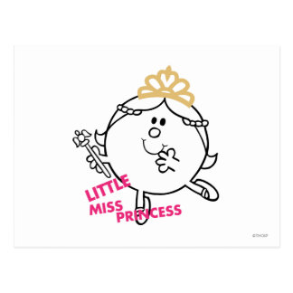 Little Miss Princess Icon 6 Post Card