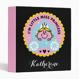 Little Miss Princess | I'm A Princess 3 Ring Binder