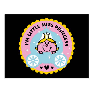 Little Miss Princess | I'm A Princess Postcard