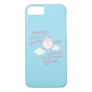 Little Miss Princess | Invisible Crown iPhone 7 Case