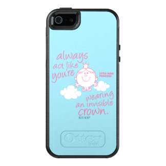 Little Miss Princess | Invisible Crown OtterBox iPhone 5/5s/SE Case