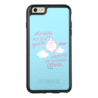 Little Miss Princess | Invisible Crown OtterBox iPhone 6/6s Plus Case