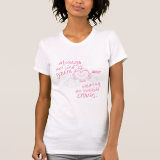Little Miss Princess | Invisible Crown T-Shirt