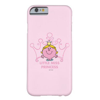 Little Miss Princess | Pink Five Pointed Crown Barely There iPhone 6 Case