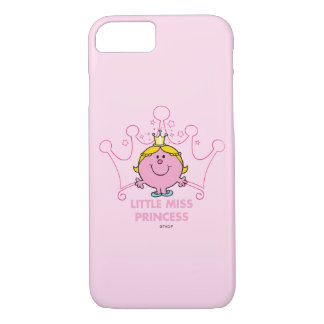 Little Miss Princess | Pink Five Pointed Crown iPhone 7 Case