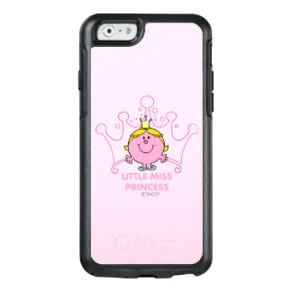 Little Miss Princess | Pink Five Pointed Crown OtterBox iPhone 6/6s Case