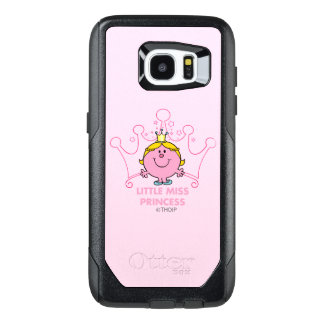 Little Miss Princess | Pink Five Pointed Crown OtterBox Samsung Galaxy S7 Edge Case
