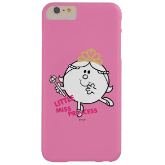 Little Miss Princess | Pink Lettering Barely There iPhone 6 Plus Case