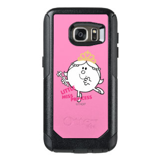 Little Miss Princess | Pink Lettering OtterBox Samsung Galaxy S7 Case