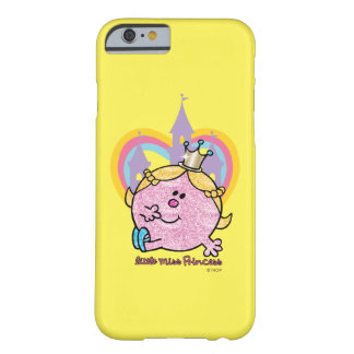 Little Miss Princess Posing With Castle & Heart Barely There iPhone 6 Case