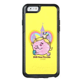 Little Miss Princess Posing With Castle & Heart OtterBox iPhone 6/6s Case