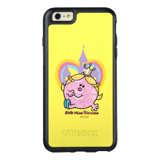 Little Miss Princess Posing With Castle & Heart OtterBox iPhone 6/6s Plus Case