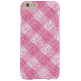 Little Miss Princess | Pretty In Pink Pattern Barely There iPhone 6 Plus Case