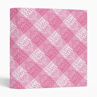 Little Miss Princess | Pretty In Pink Pattern Binder