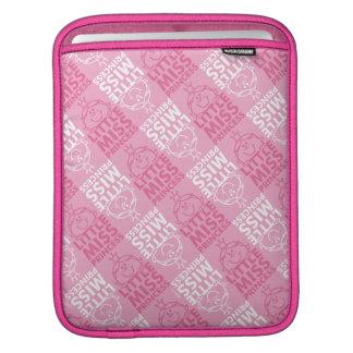 Little Miss Princess | Pretty In Pink Pattern iPad Sleeve