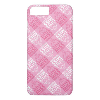 Little Miss Princess | Pretty In Pink Pattern iPhone 7 Plus Case