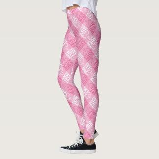 Little Miss Princess | Pretty In Pink Pattern Leggings