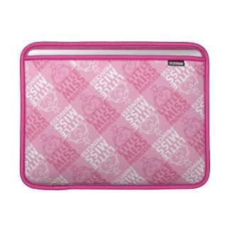 Little Miss Princess | Pretty In Pink Pattern MacBook Sleeve