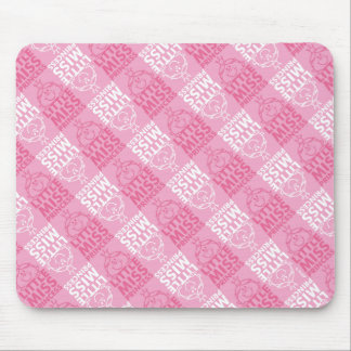 Little Miss Princess | Pretty In Pink Pattern Mouse Pad