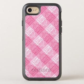 Little Miss Princess   Pretty In Pink Pattern OtterBox Symmetry iPhone 7 Case
