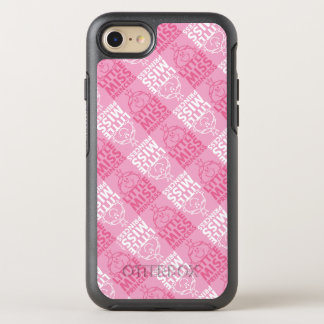 Little Miss Princess | Pretty In Pink Pattern OtterBox Symmetry iPhone 8/7 Case