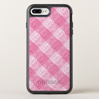 Little Miss Princess | Pretty In Pink Pattern OtterBox Symmetry iPhone 8 Plus/7 Plus Case