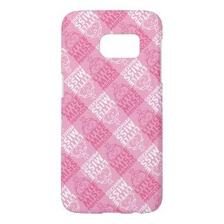 Little Miss Princess | Pretty In Pink Pattern Samsung Galaxy S7 Case