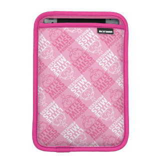 Little Miss Princess | Pretty In Pink Pattern Sleeve For iPad Mini