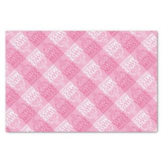 Little Miss Princess   Pretty In Pink Pattern Tissue Paper