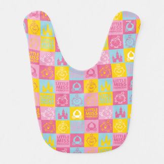 Little Miss Princess | Pretty Pastel Pattern Bib