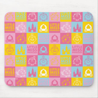 Little Miss Princess | Pretty Pastel Pattern Mouse Pad