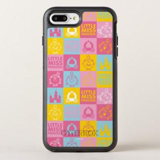 Little Miss Princess | Pretty Pastel Pattern OtterBox Symmetry iPhone 8 Plus/7 Plus Case