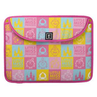 Little Miss Princess   Pretty Pastel Pattern Sleeve For MacBook Pro