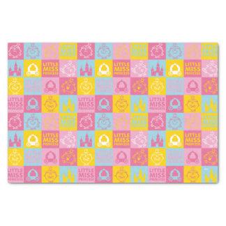Little Miss Princess   Pretty Pastel Pattern Tissue Paper