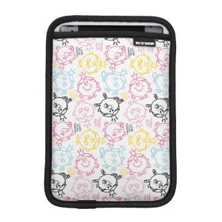 Little Miss Princess | Pretty Pastels Pattern iPad Mini Sleeve