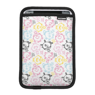 Little Miss Princess | Pretty Pastels Pattern iPad Mini Sleeves