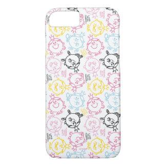 Little Miss Princess   Pretty Pastels Pattern iPhone 7 Case