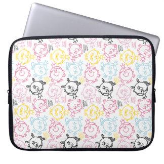 Little Miss Princess   Pretty Pastels Pattern Laptop Sleeve