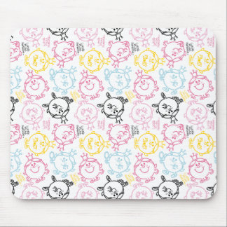 Little Miss Princess | Pretty Pastels Pattern Mouse Pad