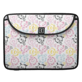 Little Miss Princess | Pretty Pastels Pattern Sleeve For MacBooks