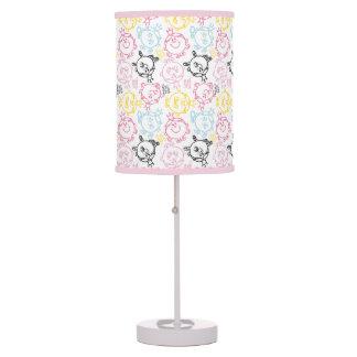 Little Miss Princess | Pretty Pastels Pattern Table Lamp