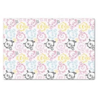 Little Miss Princess   Pretty Pastels Pattern Tissue Paper