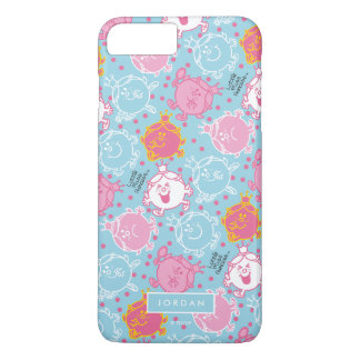 Little Miss Princess | Pretty Pink & Blue Pattern iPhone 7 Plus Case