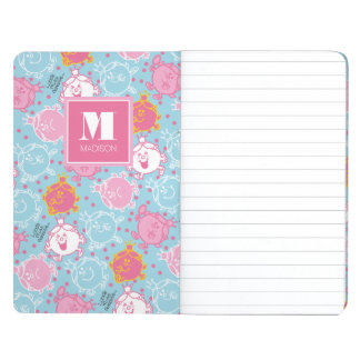 Little Miss Princess | Pretty Pink & Blue Pattern Journal