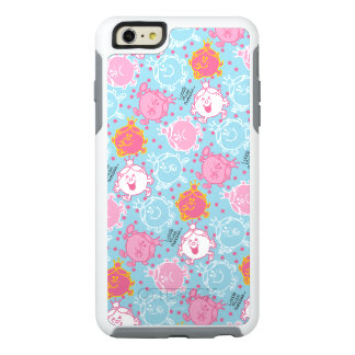 Little Miss Princess | Pretty Pink & Blue Pattern OtterBox iPhone 6/6s Plus Case